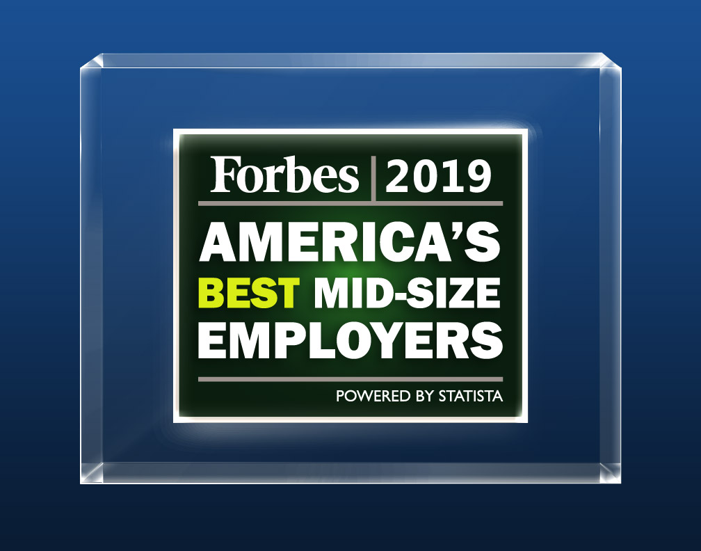 2019 Forbes Americas Best Mid-Size Employers